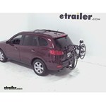 Thule Parkway 2 Hitch Bike Rack Review - 2009 Hyundai Santa Fe
