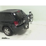 Thule Parkway 2 Hitch Bike Rack Review - 2009 Jeep Grand Cherokee