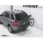 Thule Parkway 2 Hitch Bike Rack Review - 2009 Kia Sportage