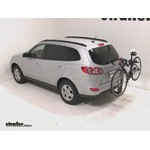 Thule Parkway 2 Hitch Bike Rack Review - 2010 Hyundai Santa Fe