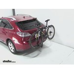 Thule Parkway 2 Hitch Bike Rack Review - 2010 Lexus RX 350