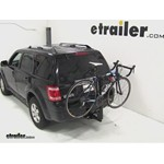 Thule Parkway 2 Hitch Bike Rack Review - 2011 Ford Escape