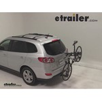 Thule Parkway 2 Hitch Bike Rack Review - 2011 Hyundai Santa Fe