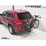 Thule Parkway 2 Hitch Bike Rack Review - 2011 Jeep Grand Cherokee