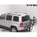 Thule Parkway 2 Hitch Bike Rack Review - 2011 Jeep Patriot