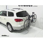 Thule Parkway 2 Hitch Bike Rack Review - 2012 Buick Enclave