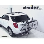Thule Parkway 2 Hitch Bike Rack Review - 2012 Chevrolet Equinox