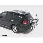 Thule Parkway 2 Hitch Bike Rack Review - 2012 Kia Sorento