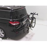 Thule Parkway 2 Hitch Bike Rack Review - 2012 Nissan Quest