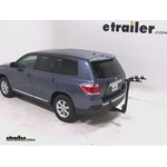 Thule Parkway 2 Hitch Bike Rack Review - 2012 Toyota Highlander