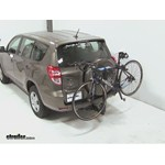 Thule Parkway 2 Hitch Bike Rack Review - 2012 Toyota RAV4