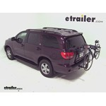 Thule Parkway 2 Hitch Bike Rack Review - 2012 Toyota Sequoia
