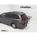 Thule Parkway 2 Hitch Bike Rack Review - 2012 Toyota Sienna