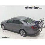 Thule Passage Trunk Mounted Bike Rack Review - 2014 Ford Taurus