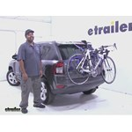 Thule Passage Trunk Mounted Bike Rack Review - 2016 Jeep Compass