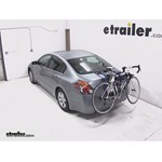 Thule Passage Trunk Mounted Bike Rack Review - 2009 Nissan Altima