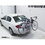 Thule Passage Trunk Mounted Bike Rack Review - 2010 Chevrolet Cobalt