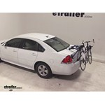 Thule Passage Trunk Mounted Bike Rack Review - 2012 Chevrolet Impala