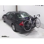 Thule Passage Trunk Mounted Bike Rack Review - 2012 Ford Fusion