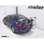 Thule Passage Trunk Mounted Bike Rack Review - 2012 Honda Civic