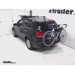Thule Passage Trunk Mounted Bike Rack Review - 2012 Kia Sorento
