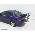 Thule Passage Trunk Mounted Bike Rack Review - 2013 Chevrolet Cruze