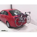 Thule Passage Trunk Mounted Bike Rack Review - 2013 Chevrolet Sonic