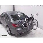 Thule Passage Trunk Mounted Bike Rack Review - 2013 Chrysler 200
