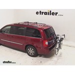 Thule Passage Trunk Mounted Bike Rack Review - 2013 Chrysler Town and Country