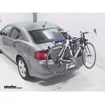 Thule Passage Trunk Mounted Bike Rack Review - 2013 Dodge Avenger