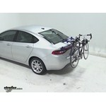 Thule Passage Trunk Mounted Bike Rack Review - 2013 Dodge Dart