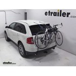 Thule Passage Trunk Mounted Bike Rack Review - 2013 Ford Edge