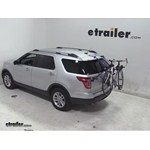 Thule Passage Trunk Mounted Bike Rack Review - 2013 Ford Explorer