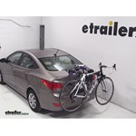Thule Passage Trunk Mounted Bike Rack Review - 2013 Hyundai Accent