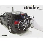 Thule Passage Trunk Mounted Bike Rack Review - 2013 Kia Sorento