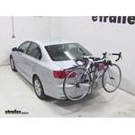 Thule Passage Trunk Mounted Bike Rack Review - 2013 Volkswagen Jetta