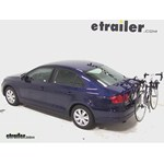 Thule Passage Trunk Mounted Bike Rack Review - 2014 Volkswagen Jetta