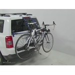 Thule Passage Trunk Mounted Bike Rack Review - 2013 Jeep Patriot