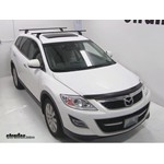 Thule Podium Roof Rack Installation - 2010 Mazda CX-9