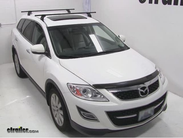 Superior Thule Podium Roof Rack Installation   2010 Mazda CX 9 Video | Etrailer.com