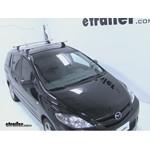 Thule AeroBlade Podium Roof Rack Installation - 2006 Mazda 5