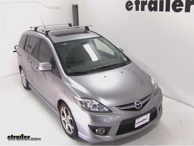 Thule Roof Rack For 2010 Mazda 5 Etrailer Com
