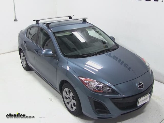 Today On Our 2011 Mazda3 Well Be Test Fitting The Thule Aeroblade Load Bar  System Using Part Numbers Tharb47 For The 47 Inch Load Bars, Part Number  Th460r ...