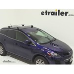 Thule AeroBlade Podium Roof Rack Installation - 2012 Mazda CX-7