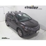 Thule AeroBlade Podium Roof Rack Installation - 2013 Honda CR-V