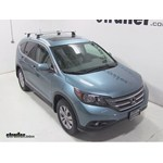 Thule AeroBlade Podium Roof Rack Installation - 2014 Honda CR-V