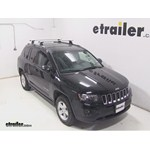 Thule AeroBlade Podium Roof Rack Installation - 2014 Jeep Compass