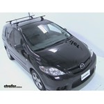Thule Podium Roof Rack Installation - 2006 Mazda 5