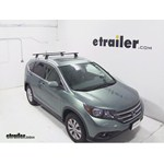 Video install thule podium loadbar 2012 honda crv thlb50
