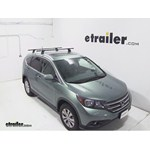 Thule Podium Roof Rack Installation - 2012 Honda CR-V